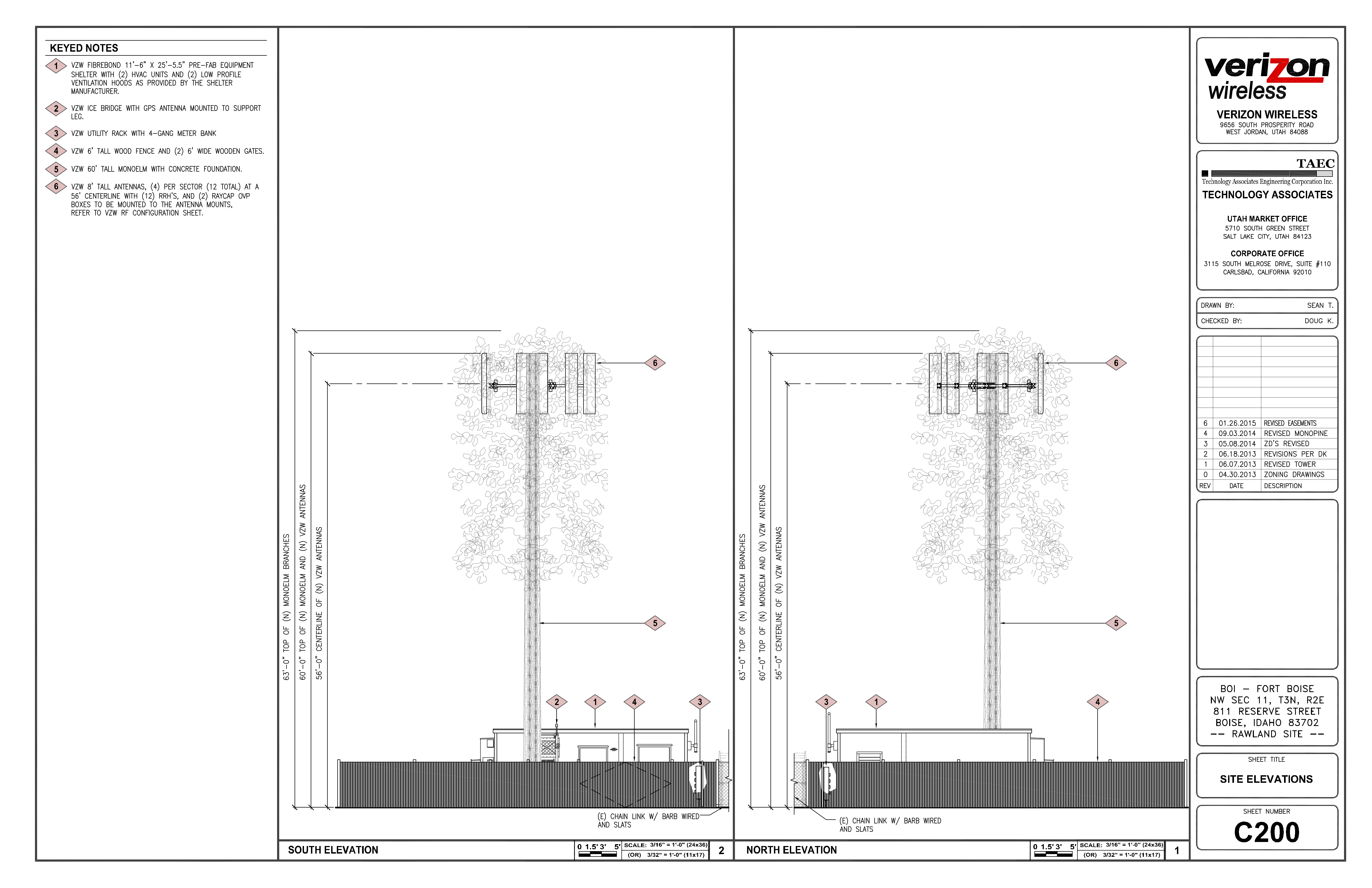 East Elevation Plan : Work begins on verizon cell tower reserve street armory